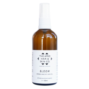 THE AFRO HAIR & SKIN CO- BLOOM – OMEGA HEALTHY HAIR OIL 100ML €24.50