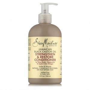 Shea Moisture – Jamaican Black Castor Oil Strengthen & Restore Conditioner – 13 Fl Oz | 384ml