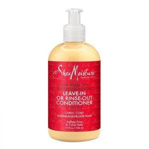 Shea Moisture – Red Palm Oil & Cacao Butter Leave-In Or Rinse-Out Conditioner – 13 Fl Oz | 384ml